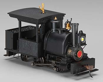 Bachmann Porter 0-4-2 w/DCC Painted, Unlettered (black) -- On30 Scale Model Train Steam Locomotive -- #28299