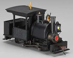 Bachmann Porter 0-4-2 w/DCC Painted, Unlettered (black) On30 Scale Model Train Steam Locomotive #28299