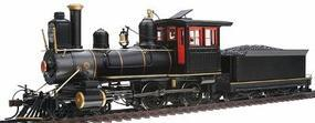 Bachmann 4-4-0 American, Wood Cab Unlettered, Painted On30 Scale Model Train Steam Locomotive #28303
