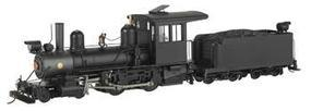 Bachmann 4-4-0 American, Steel Cab Painted, Unlettered On30 Scale Model Train Steam Locomotive #28321