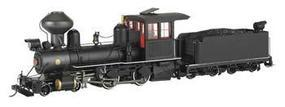 Bachmann 4-4-0 American, Wood Cab Painted, Unlettered On30 Scale Model Train Steam Locomotive #28322