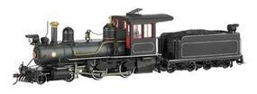 Bachmann 4-4-0 American, Wood Cab Painted, Unlettered On30 Scale Model Train Steam Locomotive #28323