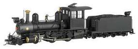 Bachmann 4-4-0 American, Wood Cab Painted, Unlettered On30 Scale Model Train Steam Locomotive #28324