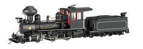 Bachmann 4-4-0 American, Steel Cab Painted, Unlettered On30 Scale Model Train Steam Locomotive #28325
