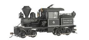 Bachmann 14-Ton 2-Truck Stearns-Heisler Colorado Mining On30 Scale Model Train Steam Locomotive #28801