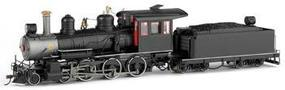 Bachmann Baldwin 4-6-0, Steel Cab Painted, Unlettered On30 Scale Model Train Steam Locomotive #28901