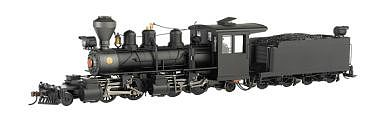 Bachmann Baldwin 2-4-4-2 Steel Cab, Painted, Unlettered -- On30 Scale Model Train Steam Locomotive -- #29001