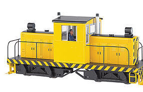Bachmann Spectrum Whitcomb 50T Painted Yellow w/Black O Scale Model Train Diesel Locomotive #29203