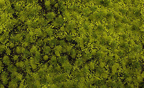 Bachmann Tufted Grass Mat Light Green Model Railroad Scenery Grass and Earth #32921
