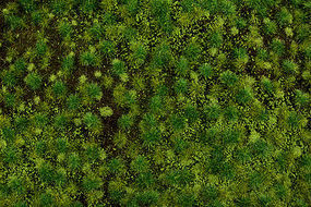 Bachmann Medium Green Tufted Grass Mat Model Railroad Grass Mat #32922