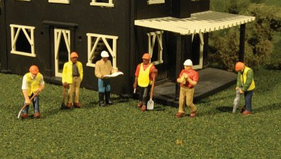 Bachmann HO Scenescapes Civil Engineers (6)