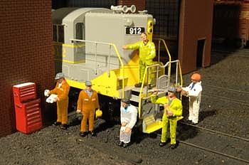 Bachmann Mechanics O Scale Model Railroad Figure #33163