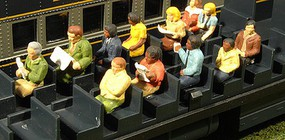 Bachmann O Scenescapes Passengers Seated (Waist-Up) (12)