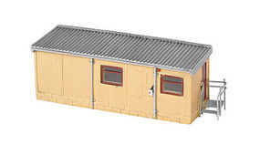 Bachmann Portable Office HO Scale Model Railroad Building #35108