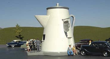 Bachmann The Coffee Pot -- HO Scale Model Railroad Building -- #35202