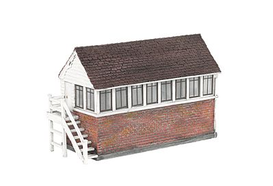 Bachmann Thomas Signal Box -- HO Scale Model Railroad Trackside Accessory -- #35903