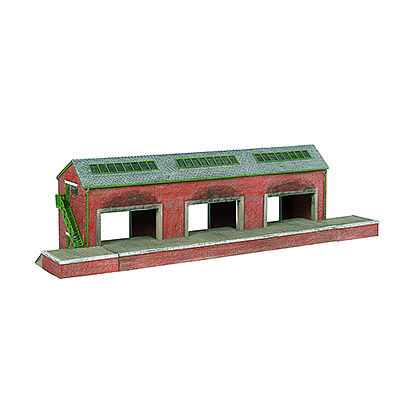 Bachmann Brendam Warehouse -- HO Scale Model Railroad Building -- #35904