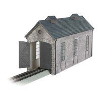 Bachmann Engine Shed HO Scale Model Railroad Building #35905