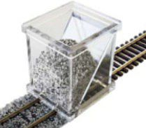 Bachmann Ballast Spreader -- HO Scale -- Model Railroad Ballast -- #39001