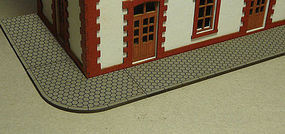 Bachmann Hexagon Sidewalk Kit HO Scale Model Railroad Building Accessory #39105