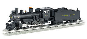 Bachmann 4-6-0 Die-Cast Baltimore & Ohio #1357 O Scale Model Train Steam Locomotive #40607
