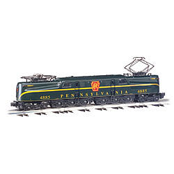 Bachmann GG-1 Pennsylvania RR 4885 Brunswick Green -- O Scale Model Train Electric Locomotive -- #41852