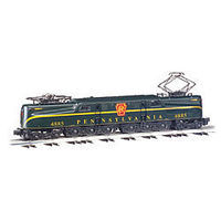 Bachmann GG-1 Pennsylvania RR 4885 Brunswick Green O Scale Model Train Electric Locomotive #41852