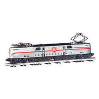 Bachmann GG-1 Pennsylvania RR #4866 Silver O Scale Model Train Electric Locomotive #41853