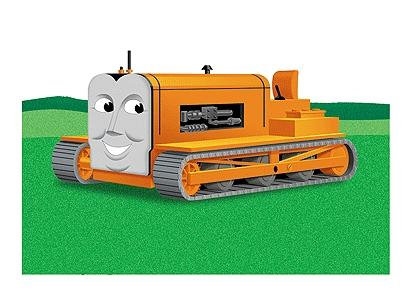 Bachmann Terence The Tractor -- HO Scale Thomas-the-Tank Electric Accessory -- #42447