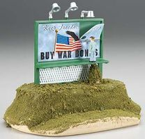 Bachmann Billboard - Buy War Bonds O Scale Model Railroad Roadway Accessory #42603