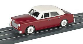 Bachmann Powered Sedan - Assembled - E-Z Street(TM) - Maroon O Scale Model Railroad Vehicle #42725