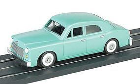 Bachmann E-Z Street Car Sedan Seamist Green O Scale Model Railroad Vehicle #42726