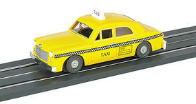 Bachmann Powered Sedan - Assembled - E-Z Street(TM) - Taxi O Scale Model Railroad Vehicle #42728