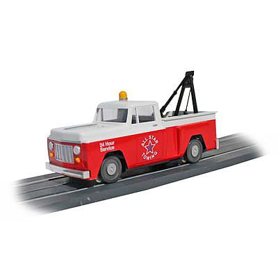 Bachmann Tow Truck -- O Scale Model Railroad Vehicle -- #42731