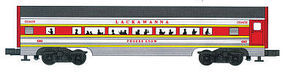 Bachmann 4-Car Passenger Set (60) - Lackawanna O Scale Model Train Passenger Car #43065