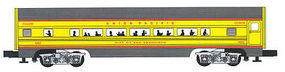 Bachmann 4-Car Passenger Set (60) - Union Pacific O Scale Model Train Passenger Car #43069