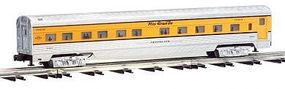 Bachmann 72 Coach Add-On Set pkg(2) - Denver & Rio Grande O Scale Model Train Passenger Car #43118