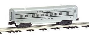 Bachmann O-27 4-Car Passenger Set - C,B,&Q O Scale Model Train Passenger Car #43256