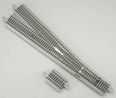 Bachmann E-Z Track(R) - #6 Left Hand HO Scale Nickel Silver Model Train Track #44135