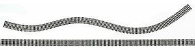 Bachmann (bulk of 25) 36 Code 100 Flex Track HO Scale Nickel Silver Model Train Track #44371