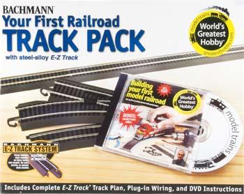 Bachmann E-Z Steel Alloy Worlds Greatest Track Pack HO Scale Track Steel #44497