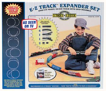 Bachmann Layout Expander N/S E-Z -- HO Scale Nickel Silver Model Train Track -- #44594