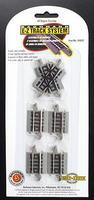 Bachmann 60 Degree Crossing N/S EZ N Scale Nickel Silver Model Train Track #44842