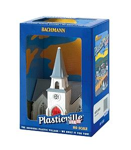 Bachmann Cathedral Built-Up HO Scale Model Railroad Building #45012