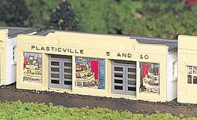 Bachmann 5 & 10 Store Snap Kit HO Scale Model Railroad Building #45142