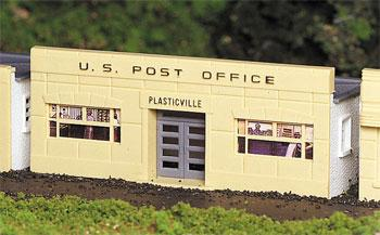Bachmann Post Office Kit HO Scale Model Railroad Building #45144