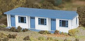 Bachmann Motel (White/Blue) O Scale Model Railroad Building #45616