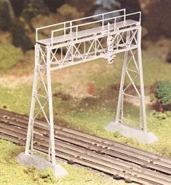 Bachmann Signal Bridge Kit O Scale Model Railroad Bridge #45623