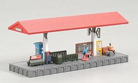 Bachmann Platform Station Built-Up N Scale Model Railroad Trackside Accessory #45906