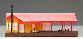 Bachmann Grovemont Freight Station Built-Up N Scale Model Railroad Building #45907